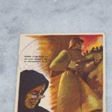 Postales: POSTAL COMISARIADO DE GUERRA. Lote 199511426