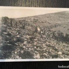 Postales: POSTAL FOTOGRAFICA GUERRA CIVIL MILICIANOS FRENTE DE ARAGON (MONTE OSCURO ) 1937 -14X9 CM.. Lote 202658403