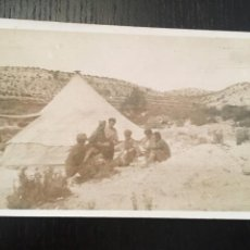 Postales: POSTAL FOTOGRAFICA GUERRA CIVIL MILICIANOS FRENTE DE ARAGON (FUENFERRADA) TERUEL DICIEMBRE 1936. Lote 202748840