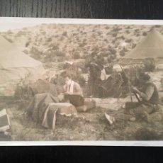 Postales: POSTAL FOTOGRAFICA GUERRA CIVIL MILICIANO ASEANDOSE , FRENTE DE ARAGON ( MONTE OSCURO 1937). Lote 202749062