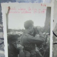 Postales: INEDITA OBSERVATORIO ARTILERIA 27 IX 1938 EN PLENA GUERRA CIVIL CATALUÑA TENIENTE MEDICO LA CRUZ. Lote 205512996