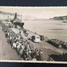 Postales: 21 CARAVANA DE MILICIANOS ATRAVESANDO PORT-VENDRES, ORIGINAL. Lote 205649913