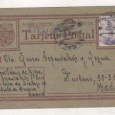 Postales: TARJETA POSTAL DESDE EL CAMPO DE CONCENTRACIÓN, CASA DE TRABAJO DE ALCALÁ DE HENARES.. Lote 206164481