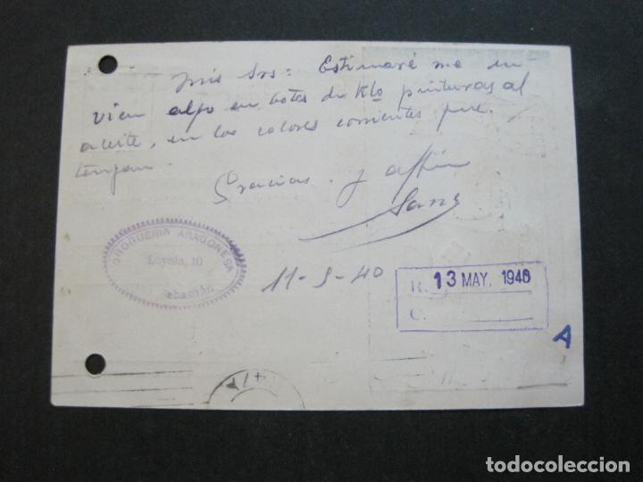 Postales: VIVA ESPAÑA-VIVA ITALIA-HEIL HITLER-CIRCULADA-GUERRA CIVIL-NAZI-POSTAL ANTIGUA-(71.262) - Foto 4 - 207126293