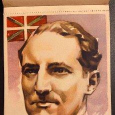 Postales: ESTAMPAS DE LA GUERRA CIVIL EN EUSKADI. EDICIONES ESPAÑOLAS. LITOGRAFÍA JOSÉ LOPEZ. 1937. ORIGINAL.. Lote 208095445