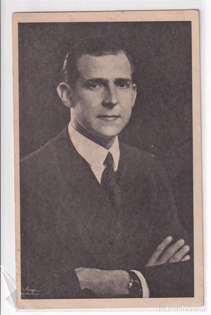 DON JUAN DE BORBÓN (Postales - Postales Temáticas - Guerra Civil Española)
