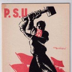 Postales: PSU – UGT TREBALLA.... Lote 208822945
