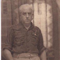 Postales: YAGUE FOTO JALON ANGEL. SERIE DE MILITARES Y GENERALES FRANQUISTAS EN LA GUERRA CIVIL. Lote 210235111