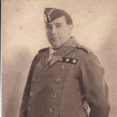 Postales: CASTEJON FOTO JALON ANGEL. SERIE DE MILITARES Y GENERALES FRANQUISTAS EN LA GUERRA CIVIL. Lote 210236108