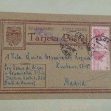 Postales: TARJETA POSTAL DESDE EL CAMPO DE CONCENTRACIÓN, CASA DE TRABAJO DE ALCALÁ DE HENARES.. Lote 212975485