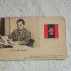 Postales: POSTAL POLÍTICA GUERRA CIVIL FALANGE.JOSE ANTONIO PRIMO DE RIVERA.FRANCO.REQUETE.MILITAR.NACIONAL.ES. Lote 218171787