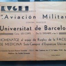 Postales: PASQUIN GUERRA CIVIL DE LA UNIVERSITAT DE BARCELONA. APUNTES DE ESTUDIANTE DETRAS. Lote 218186163