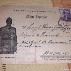 Postales: LOTE GUERRA CIVIL CAMPO PRISIONEROS SOLDADO REPUBLICANO. Lote 218232707