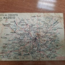 Postales: TARJETA POSTAL DEL FRENTE DE MADRID.GUERRA CIVIL. Lote 218354445