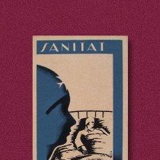 Postales: POSTAL GUERRA CIVIL ''SANITAT - ESTAT CATALÀ''. Lote 218981602