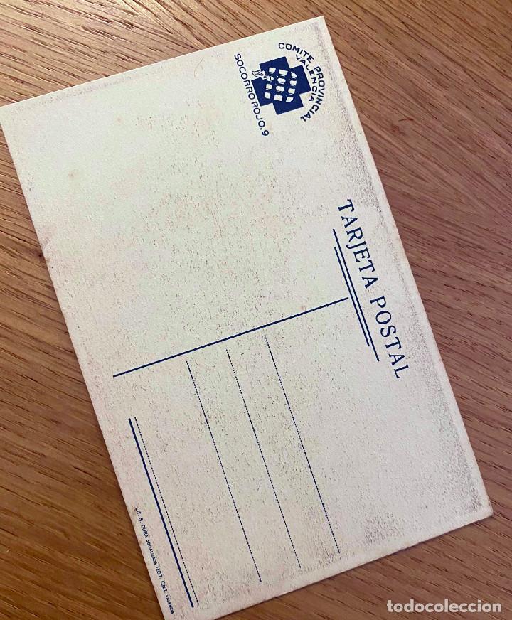 Postales: POSTAL SOCORRO ROJO VALENCIA. GUERRA CIVIL - Foto 2 - 219122766