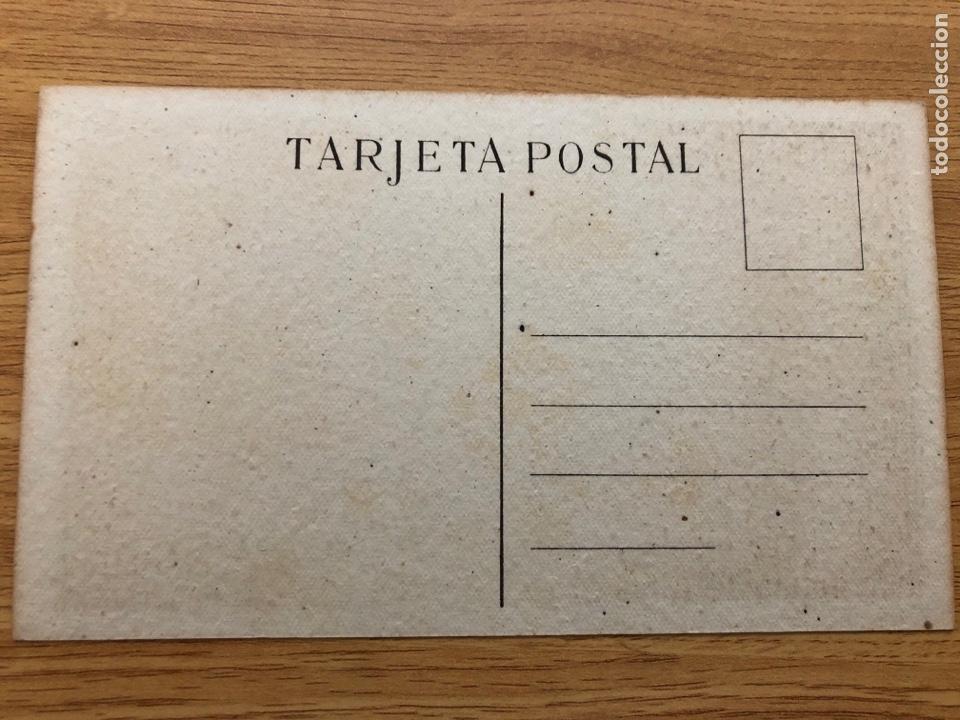 Postales: Postal Frente de Juventudes. La vergüenza de Gibraltar - Foto 2 - 219469341