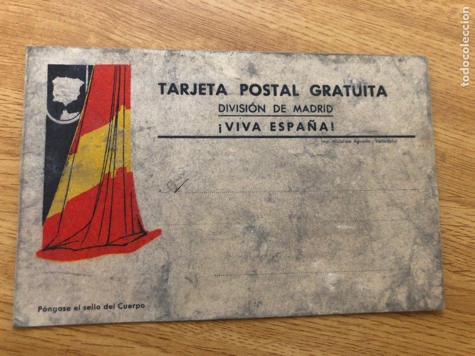 TARJETA POSTAL GRATUITA. DIVISIÓN DE MADRID (Postales - Postales Temáticas - Guerra Civil Española)