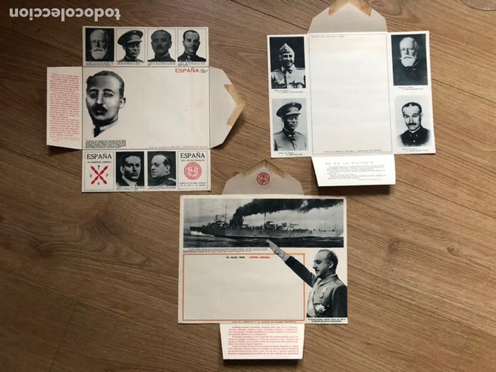 Postales: 3 Carta - sobre Ilustrados - Foto 2 - 219523141