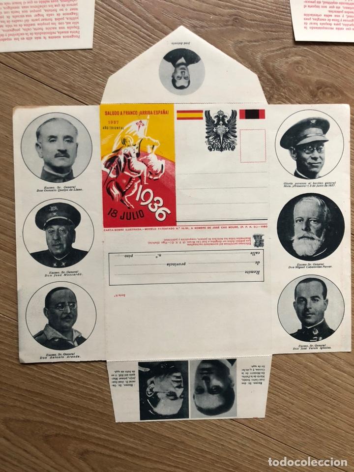Postales: 3 Carta - sobre Ilustrados - Foto 3 - 219523141