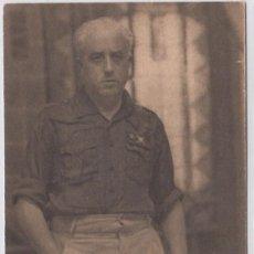 Postales: GENERAL YAGÜE. FOTO: JALÓN ANGEL. HUECOGRABADO ARTE. BILBAO. POSTÁL SIN CIRCULAR.. Lote 219584872