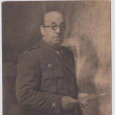 Postales: GENERAL MOSCARDÓ. FOTO: JALÓN ANGEL. HUECOGRABADO ARTE. BILBAO. POSTÁL SIN CIRCULAR.. Lote 219584968