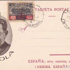Postales: GUERRA CIVIL POSTAL GENERAL MOLA 1937. Lote 222676131