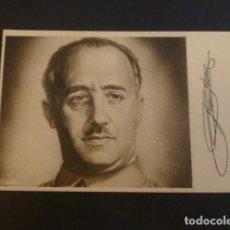 Postales: FRANCISCO FRANCO POSTAL1940. Lote 224259277
