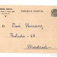 Postales: MADRID.- REPÚBLICA.- LIBRERÍA BERGUA. GUERRA CIVIL. JURISPRUDENCIA CIVIL REITERADA POR DON JUAN RÍOS. Lote 232046370
