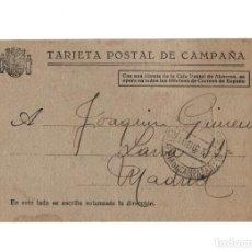 Postales: MADRID.- GUERRA CIVIL, REPÚBLICA. TARJETA POSTAL DE CAMPAÑA.. Lote 235040825