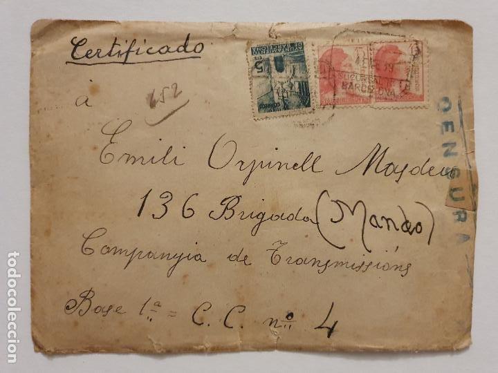 Postales: GUERRA CIVIL 1938 - COMISARIADO DE GUERRA 33 DIVISIÓN - POSTAL Y SOBRE - LCC - P46753 - Foto 4 - 243486220