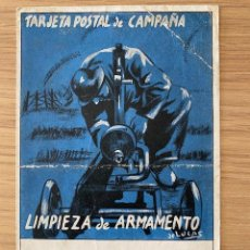 Postales: COMISARIADO 3ª DIVISIÓN TARJETA POSTAL DE CAMPAÑA GUERRA CIVIL. 1938. Lote 244688765