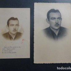 Postales: RECORDATORIO CAIDO GUERRA CIVIL ZOILO ZUAZAGOITIA CAMISA VIEJA SARGENTO BANDERA NAVARRA JUNIO 1938. Lote 247106230