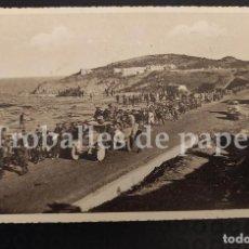 Postales: REPÚBLICA RETIRADA. EXILIO. CARAVANA DE CERBERE A COTLLIURE. Nº 18 APA GUERRA CIVIL 1939 RETIRADA. Lote 252401755