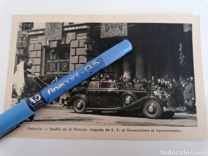 VALENCIA. MOMENTO DESFILE DE LA VICTORIA. 3 MAYO 1939. (Postales - Postales Temáticas - Guerra Civil Española)