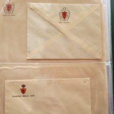 Postales: LOT DE 2 CARTAS Y DOS HOJAS DE ITALIANOS EN ESPAÑA. GUERRA CIVIL. Lote 252811475