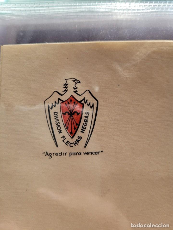 Postales: lot de 2 cartas y dos hojas de italianos en España. Guerra Civil - Foto 4 - 252811475