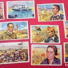 Postales: GUERRA CIVIL - 10 POSTALES - CRUZ ROJA - SERIE COMPLETA. Lote 253258055
