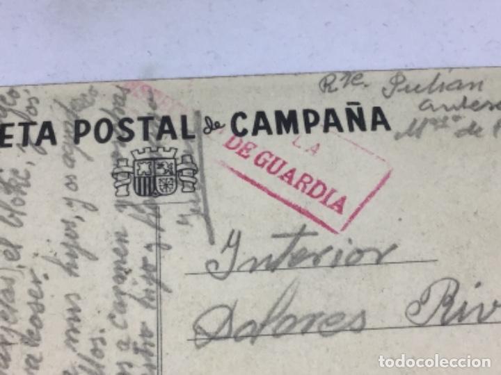 Postales: REPUBLICA - COMISARIADO DE GUERRA INSPECCION DEL CENTRO - TARJETA POSTAL DE CAMPAÑA - ESCRITA - Foto 4 - 254249665