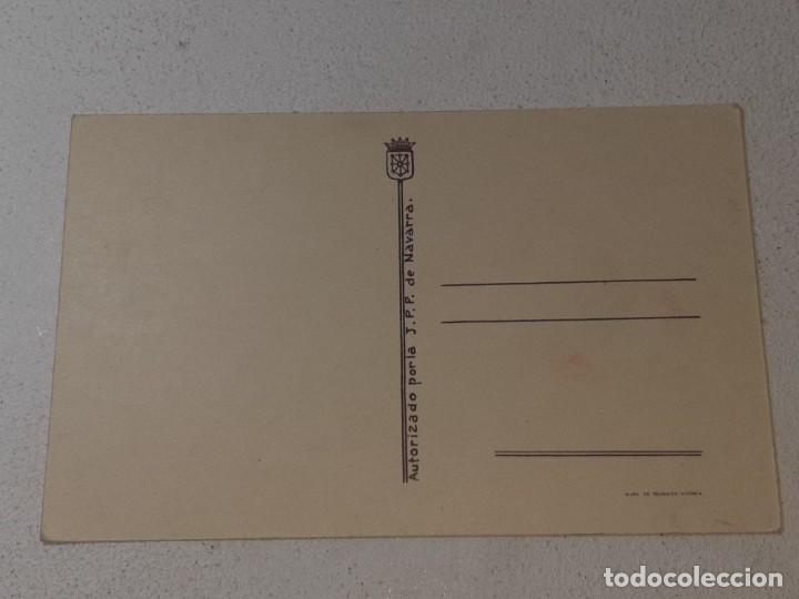 Postales: ANTIGUA POSTAL GUERRA CIVIL ESPAÑOLA - REQUETE - CARLISTA - AUTORIZADO POR LA J.P.P DE NAVARRA - Foto 4 - 256121870