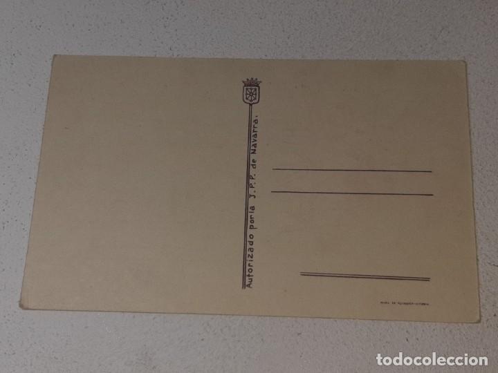 Postales: ANTIGUA POSTAL GUERRA CIVIL ESPAÑOLA - REQUETE - CARLISTA - TRADICION AUTORIZA LA J.P.P DE NAVARRA - Foto 4 - 256122375