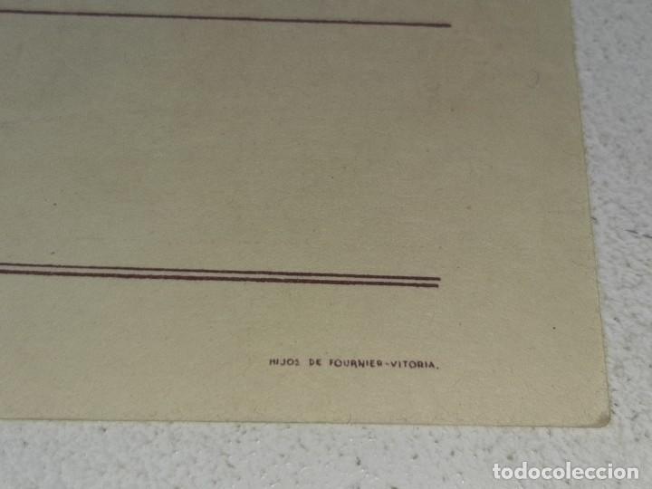 Postales: ANTIGUA POSTAL GUERRA CIVIL ESPAÑOLA - REQUETE - CARLISTA - TRADICION AUTORIZA LA J.P.P DE NAVARRA - Foto 5 - 256122375