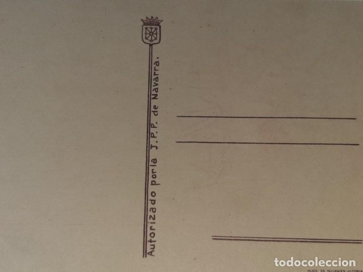 Postales: ANTIGUA POSTAL GUERRA CIVIL ESPAÑOLA - REQUETE - CARLISTA - TRADICION AUTORIZA LA J.P.P DE NAVARRA - Foto 6 - 256122375