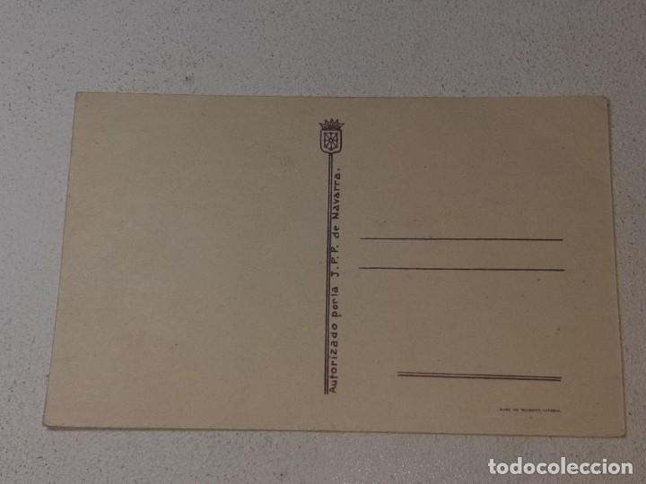 Postales: ANTIGUA POSTAL GUERRA CIVIL ESPAÑOLA - REQUETE - CARLISTA - AUTORIZADO LA J.P.P DE NAVARRA - Foto 5 - 256122640