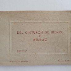 Postales: CINTURÓN DE HIERRO DE BILBAO - SÓLO 10 POSTALES - P51397. Lote 263720375