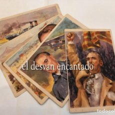 Postales: GUERRA CIVIL. SERIE 10 POSTALES CRUZ ROJA. COMPLETA. Lote 263889785