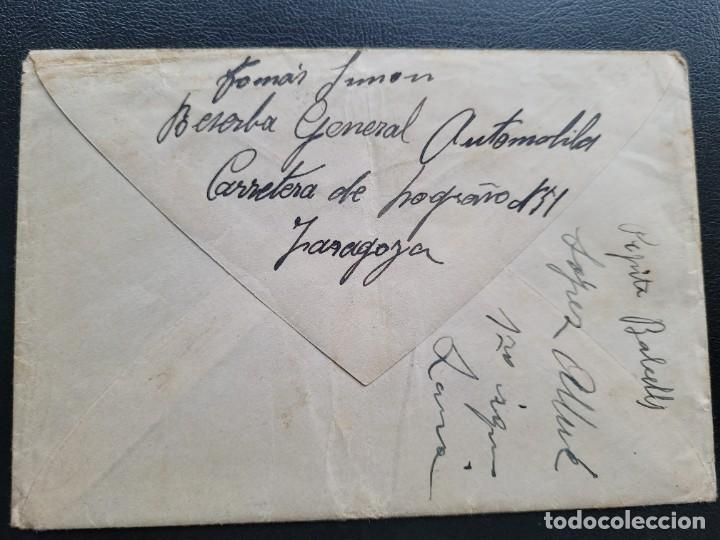 Postales: Carta requete catalan. Bando nacional . Guerra civil - Foto 3 - 267488834