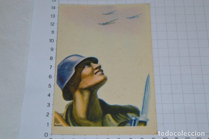 POSTAL GUERRA CIVIL ESPAÑOLA / ARTES GRÁFICAS TOLOSA - LABORDE Y LABAYEN - ¡MUY DIFÍCIL! LOTE 07 (Postales - Postales Temáticas - Guerra Civil Española)