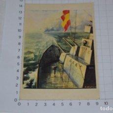Postales: POSTAL GUERRA CIVIL ESPAÑOLA / ARTES GRÁFICAS TOLOSA - LABORDE Y LABAYEN - ¡MUY DIFÍCIL! LOTE 09. Lote 276957883