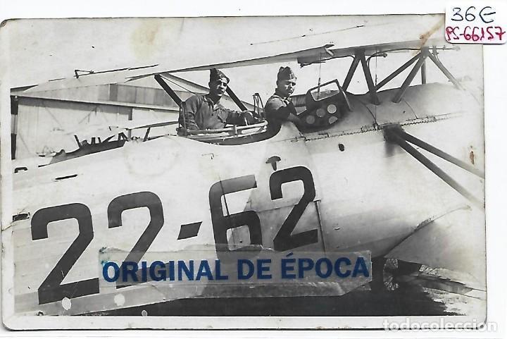 (PS-66157)POSTAL FOTOGRAFICA PILOTOS AVIACION SEVILLA-EPOCA REPUBLICA (Postales - Postales Temáticas - Guerra Civil Española)